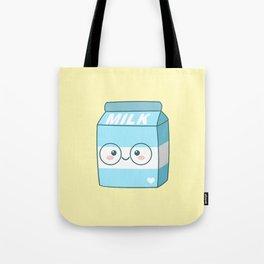 Kawaii Milk Tote Bag