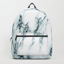 Green Marble Look Backpack