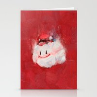 mario kart Stationery Cards featuring Mario by Ronan Lynam