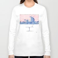 wine Long Sleeve T-shirts featuring Wine by liev