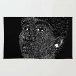 Aretha Franklin Rug