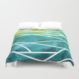 Stripes and Colour 1 Duvet Cover