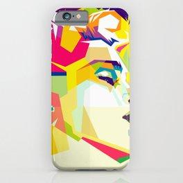 Madonna Pop Art WPAP iPhone Case