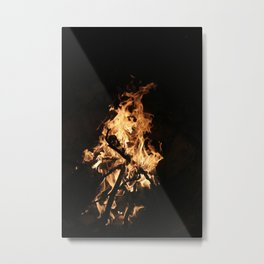 ROASTING Metal Print