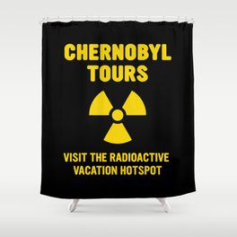 CHERNOBYL TOURS Shower Curtain