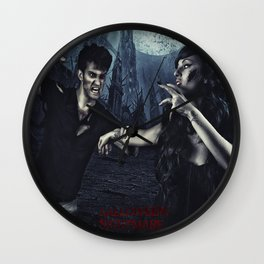 Halloween Nightmare Poster  Wall Clock