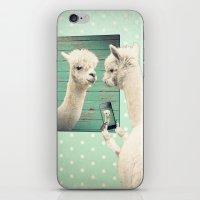 selfie iPhone & iPod Skins featuring SELFIE by Monika Strigel®