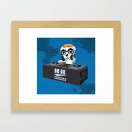 DJ KK Slider Framed Art Print