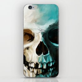 Skull 14 iPhone Skin