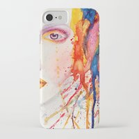 splatter iPhone & iPod Cases featuring Splatter by Funkygirl4ever95