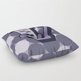 Letter V Floor Pillow