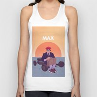 rushmore Tank Tops featuring Max by Perry Misloski