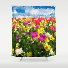 Spring Dreams Shower Curtain