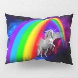Unicorn & Rainbow Pillow Sham