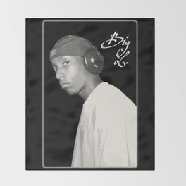 BIG L / Put It On Throw Blanket