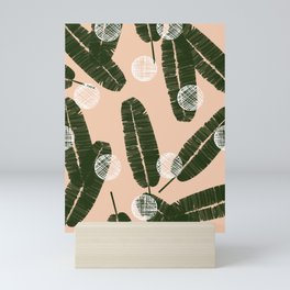 Palms & Dots #society6 #decor #buyart Mini Art Print