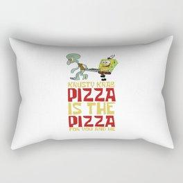 Krusty Krab Pizza Rectangular Pillow