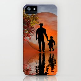 sky is on fire and I must go iPhone Case