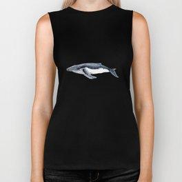 Humpback whale (Megaptera novaeangliae) Biker Tank