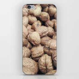 walnuts with shell iPhone Skin