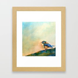Colorful Bird Framed Art Print