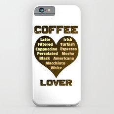 Coffee Lover Slim Case iPhone 6s