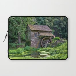 A Beautiful Old Mill Laptop Sleeve