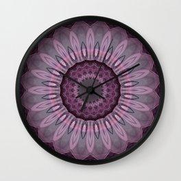 Mandala Sensibility Wall Clock