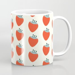 Fun Strawberries Summer Pattern Coffee Mug