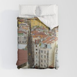 Life goes on in Constantinople - Istanbul cityscape photography Comforters