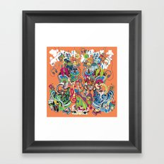 These Sounds Fall into My Mind Framed Art Print