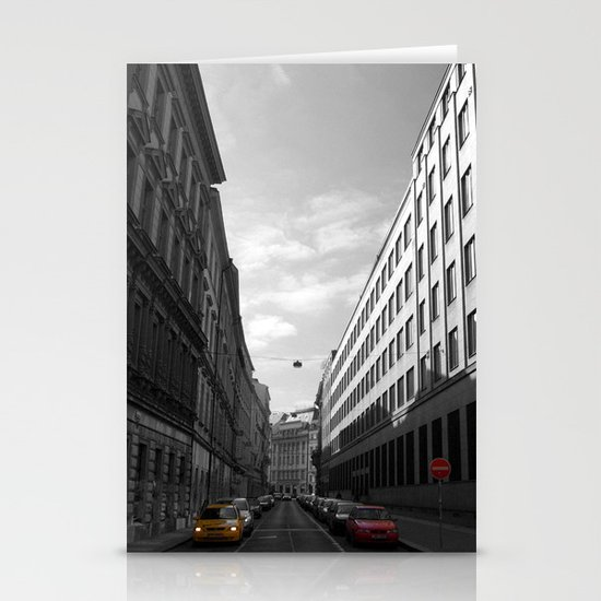 The Streets of Prague - Colour Composite Stationery Cards