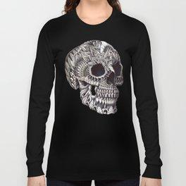 Ornate Skull Long Sleeve T-shirt