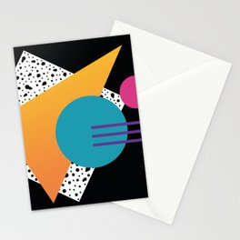 Memphis Pattern 35 / 80s - 90s Retro Stationery Cards