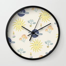 Plant-ets Wall Clock
