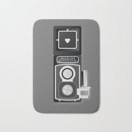 Camera Vintage, imagine Bath Mat