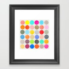 colorplay 1 sq Framed Art Print