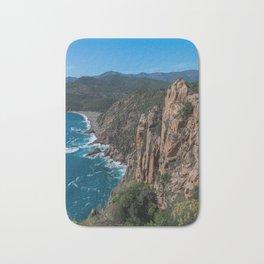 Corsica Island Landscape Bath Mat