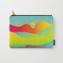 Abstract Desert Carry-All Pouch