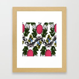 Corinthian Grapes Framed Art Print