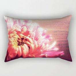 CHRYSANTHEMUM VIOLET PINK Rectangular Pillow