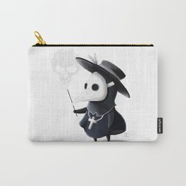 The little black Death Carry-All Pouch