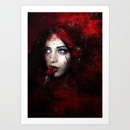 Carmilla Art Print
