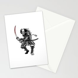 Zombie Samurai Stationery Cards