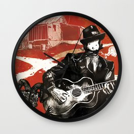 Delta Blues - Robert Johnson & Friends Wall Clock