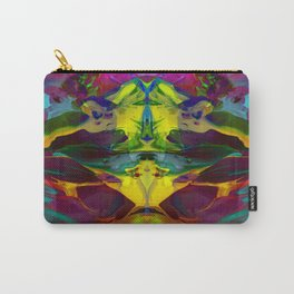Distorted Flora 2 Carry-All Pouch