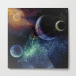 Galaxy 3 Metal Print