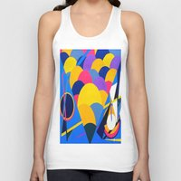 tool Tank Tops featuring Tool by takingachancexo