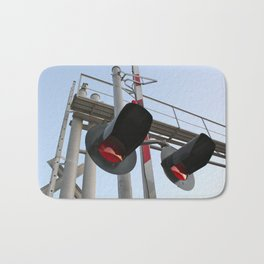 Railroad  Bath Mat