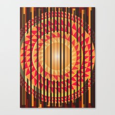 Hidden Sun Canvas Print